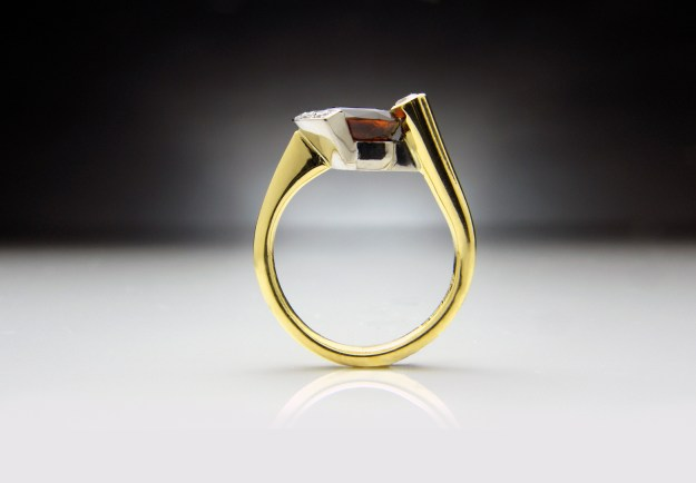 Hessonite Ring