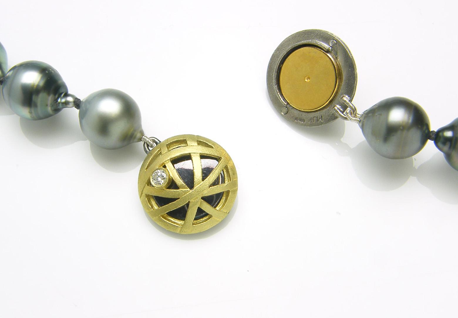 Orbit Tahitian Pearl Necklace