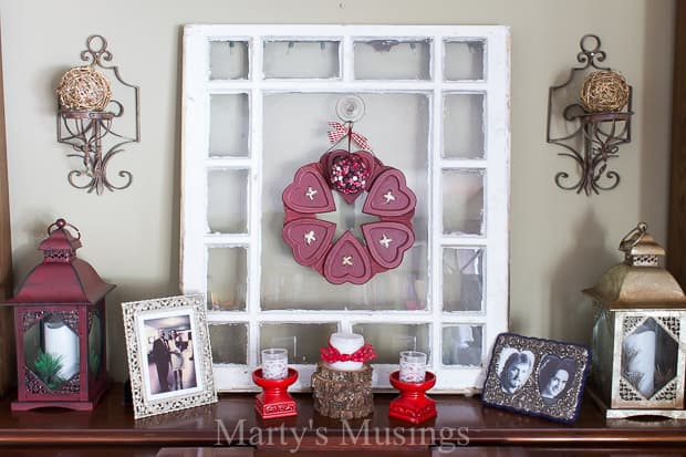 After Christmas Winter Mantel And Living Room Blesserhouse Com A Tour Of