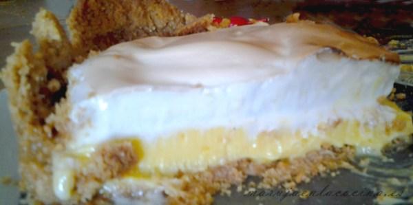 Capas de tarta de limón