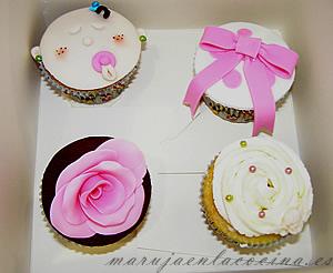 Cupcakes del taller de Jessica Cakes