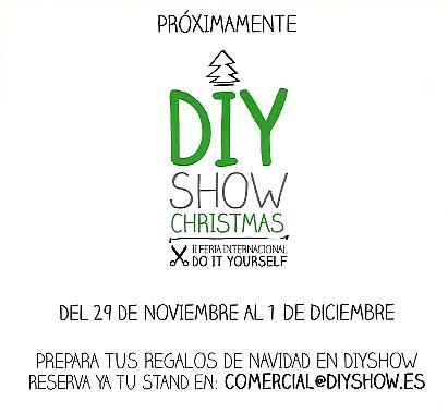 Próxima edición de DIY Show Navidad