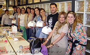 Grupo del taller de cupcakes de Jessica Cakes
