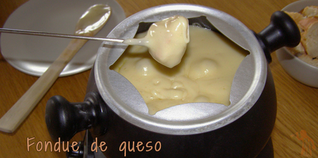 Fondue de queso (slider)