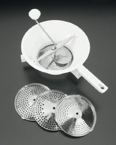 Metaltex 252124 - Pasapurés de 24 centímetros, 3 discos