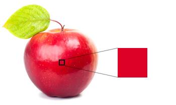 リンゴの赤