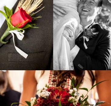 Custom made dress by Anagrassia Marusya August wedding red and white Ukrainian theme