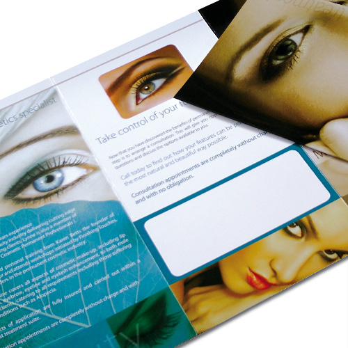Print Design for Brochures and leaflets