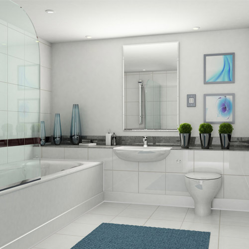 CGI Interior – bathroom