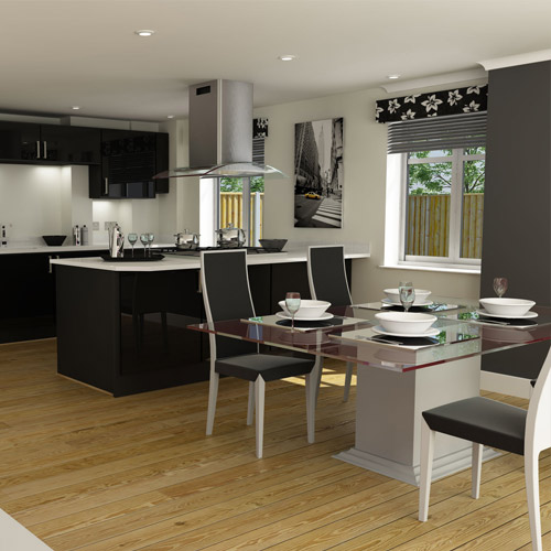 CGI Property: living Room