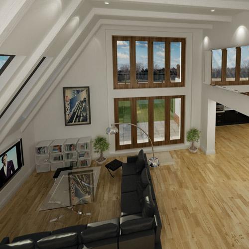 CGI - Property Interior, Lounge