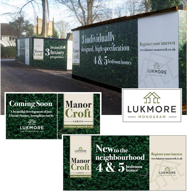 Property Development Hoardings designed