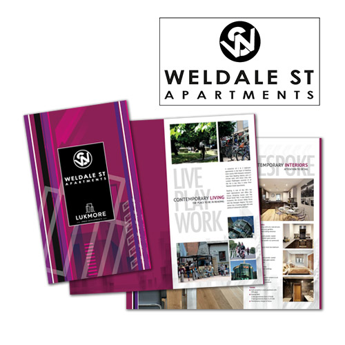 Branding, Property Marketing, Brochure Design and adverting of property development