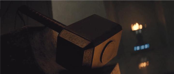 Mjolnir, Thor's Hammer in Thor (2011)