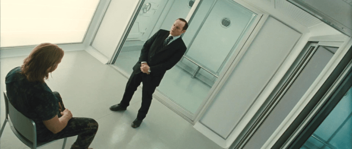 Thor and Agent Coulson in Thor (2011)
