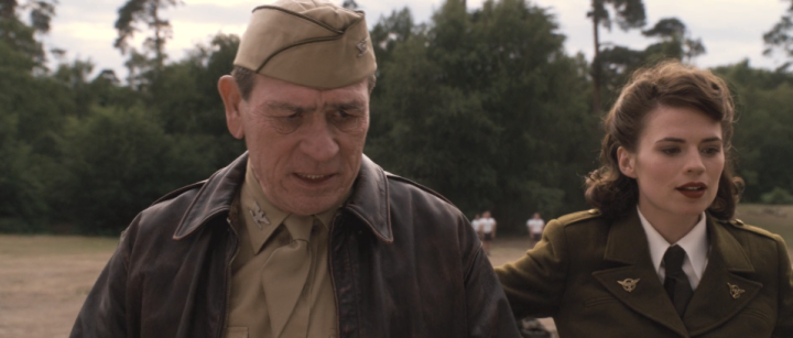 Tommy Lee Jones as Colonel Phillips in captain America: The First Avenger (2011)