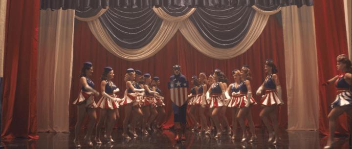 Captain America's debut in Captain America: The First Avenger (2011)