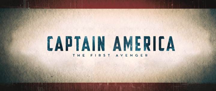 Captain America: The First Avenger (2011) title card