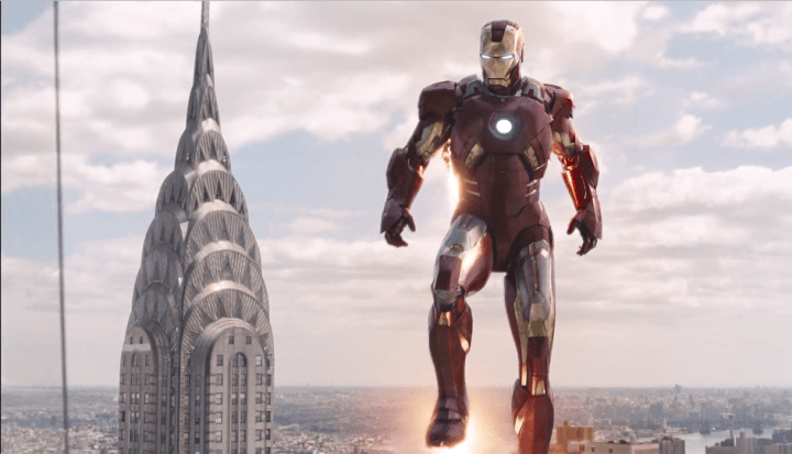 Iron Man Mark 7 in The Avengers (2012)