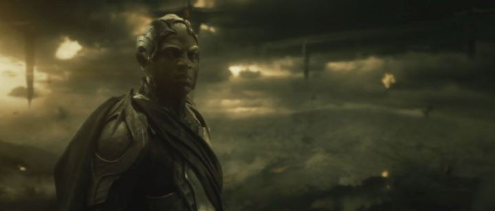 Adewale Akinnuoye-Agbaje as Algrim in Thor: The Dark World.