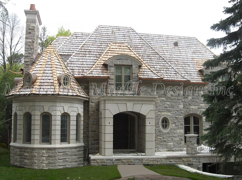 Exterior House Columns