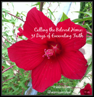 31 Days of Excavating Faith {My October 2014 #Write31Days Series}