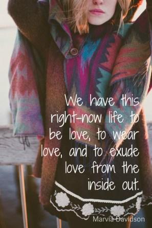 wear love marvia davidson
