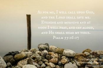 he hears my prayer m davidson 31 days