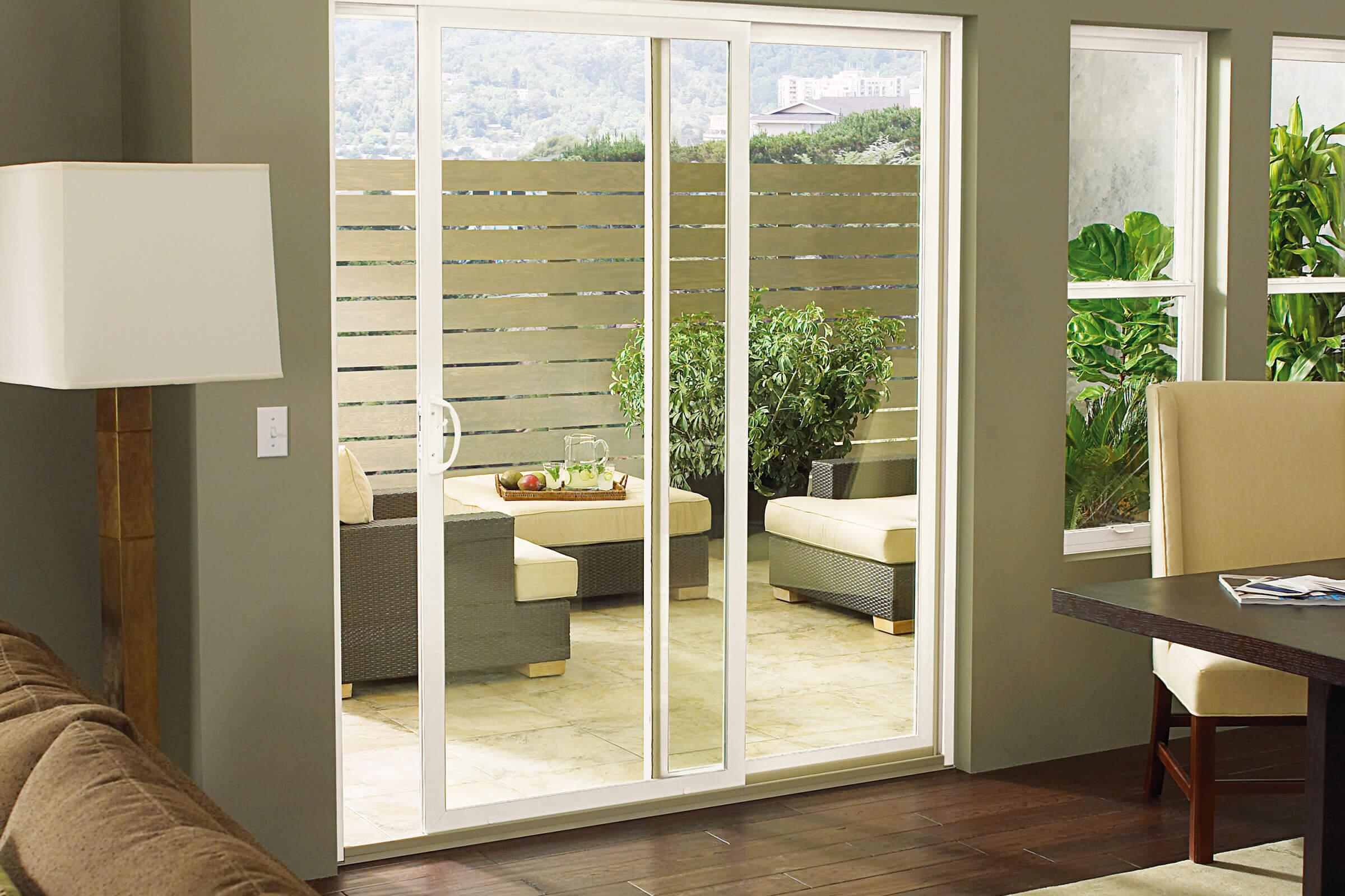 essential sliding patio door