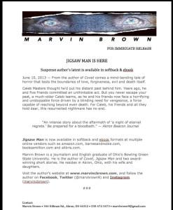 Jigsaw Man PR