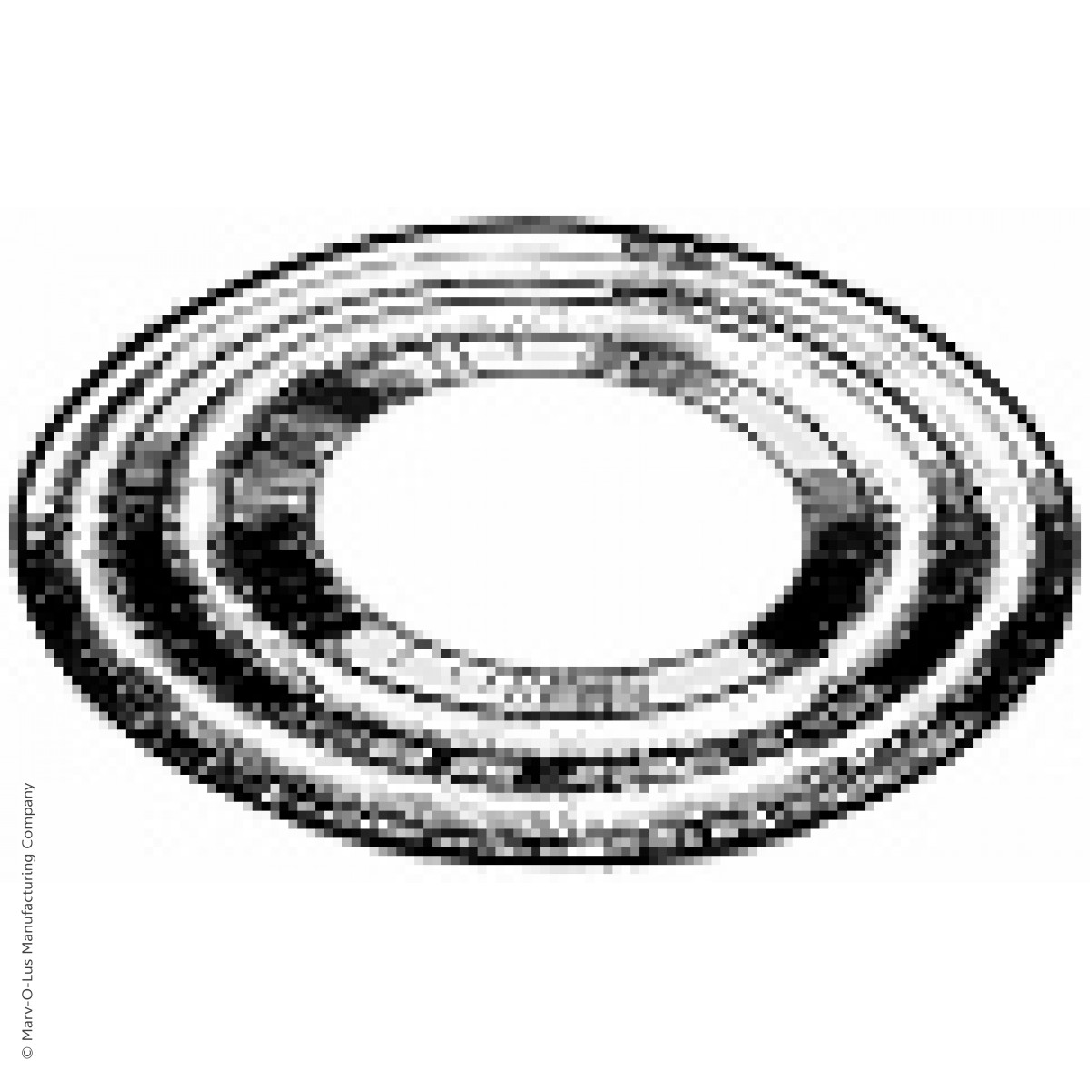 Double Ring Welding Washer For 1 5 Diameter Tubes 4 O D X 16 Gauge