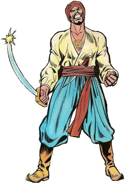 Sinbad Voyage versi Komik Amerika