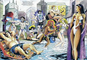 Madripoor Tourism Boost Swimsuit Special