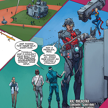 The Irredeemable Ant Man Comics Offered Some Scenes That Might Be Amusing