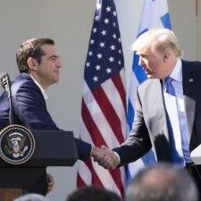 Griechenland: Haben Tsipras und Trump die selben Werte?