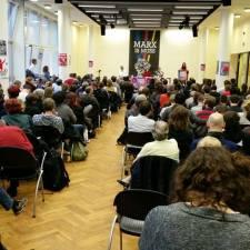»Marx is' Muss«-Kongress: Hunderte Aktivistinnen und Aktivisten diskutieren in Berlin