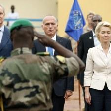 Gegen den Bundeswehreinsatz in Mali