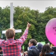 5000 christliche Fundamentalisten demonstrieren in Berlin