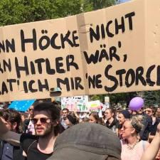 1. Mai 2019: Nazis im Rückwärtsgang