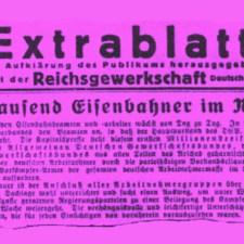 Die Kommunisten und der GDL-Streik 1922