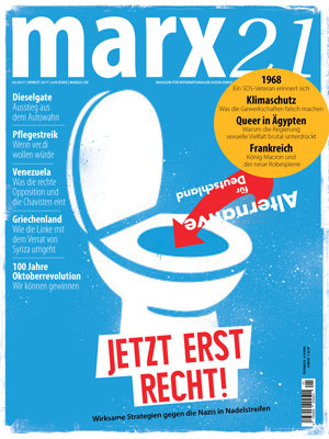marx21 Magazin Anti-AfD