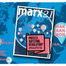 Das neue marx21-Magazin: »Protest, Aufstand, Revolution?«