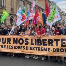 Vielversprechende Demos gegen Faschismus in Frankreich