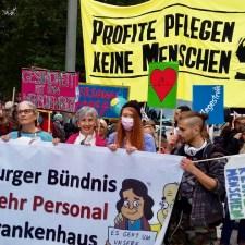 Pflegenotstand: Hamburg will Volksentscheid für mehr Personal