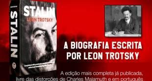 Teaser – Campanha Financeira para publicação do livro Stalin, por Leon Trotsky