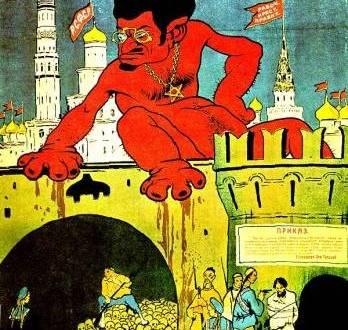 As 10 maiores mentiras sobre a Revolução Bolchevique