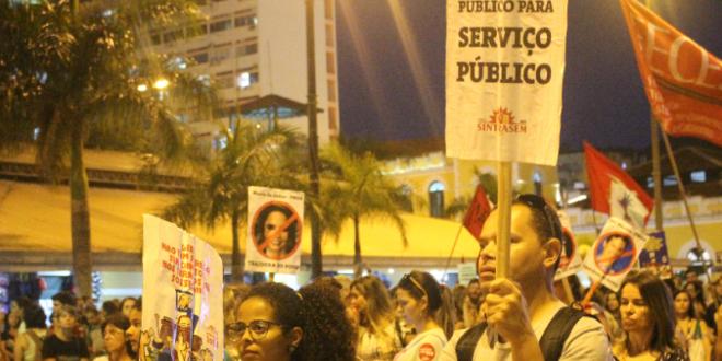 A luta contra as Organizações Sociais (OSs) em Florianópolis