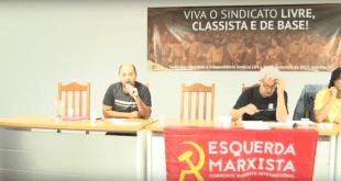 Luta por um sindicato classista, independente, democrático e socialista pela base