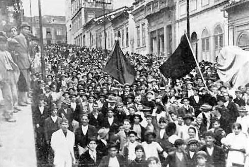 A luta dos operários em 1917: um motivo real para celebrar no dia 9 de Julho