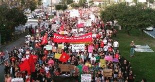 Greve geral em Florianópolis.